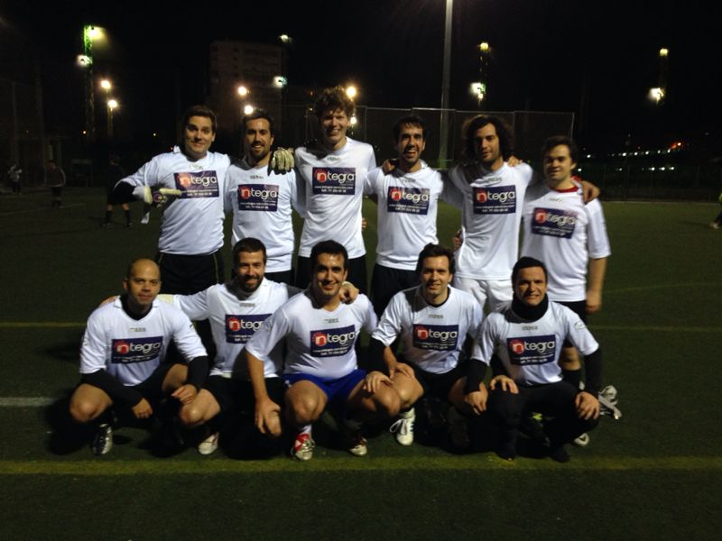 Equipo de Fútbol patrocinado por Porteros Express