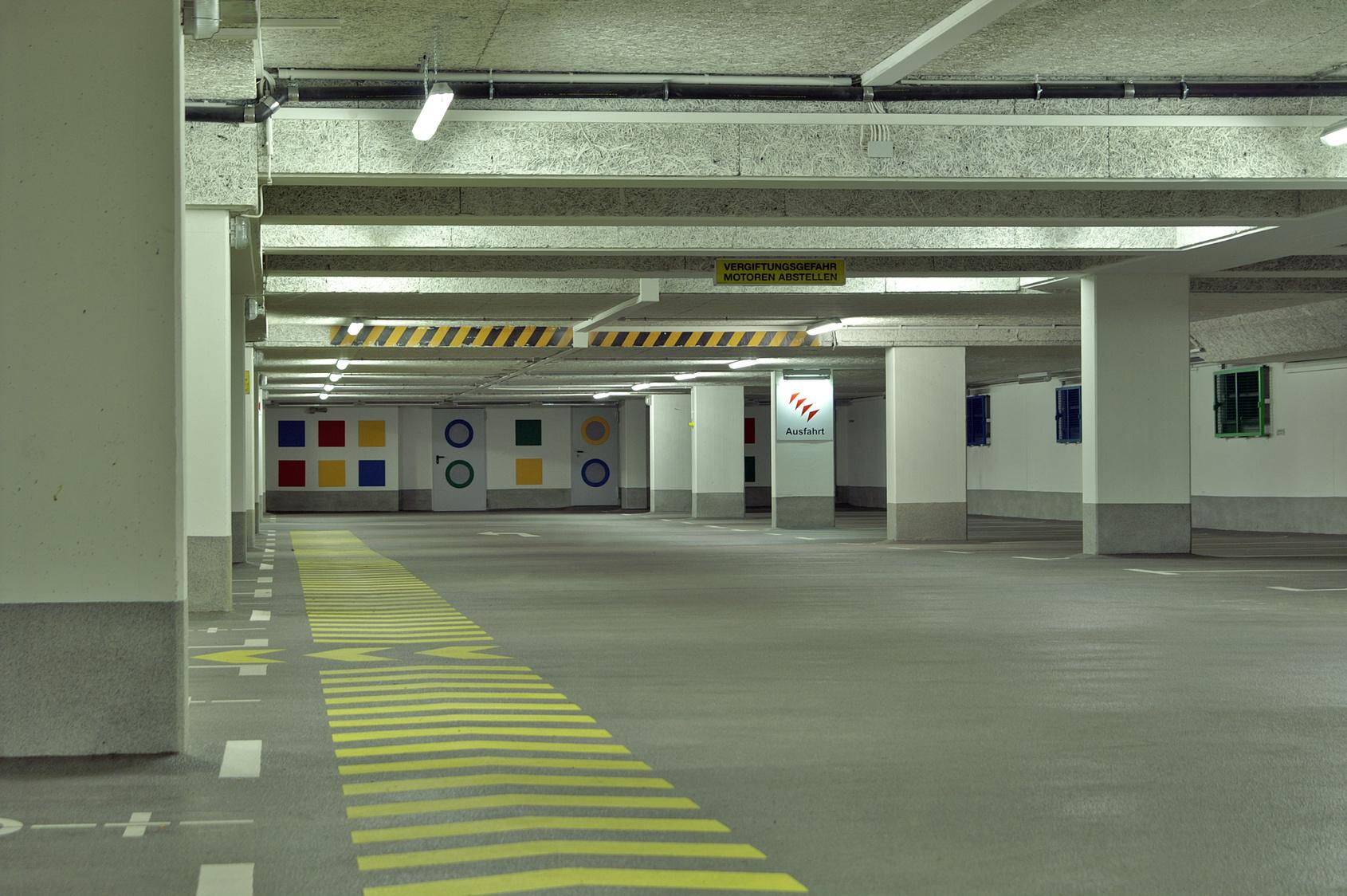Limpieza de garajes para comunidades de vecinos